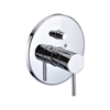 AB1701-PC Polished Chrome Pressure Balanced Round Shower Mixer with Diverter