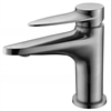 AB1770-BN Brushed Nickel Modern Single Hole Bathroom Faucet