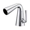 AB1788-PC Polished Chrome Single Hole Cone Waterfall Bathroom Faucet