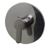 AB3001-BN Brushed Nickel Shower Valve Mixer with Rounded Lever Handle