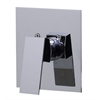 AB5501-PC Polished Chrome Shower Valve Mixer with Square Lever Handle