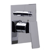 AB5601-PC Polished Chrome Shower Valve Mixer with Square Lever Handle and Diverter