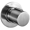 AB9101-BN Brushed Nickel Modern Round 3 Way Shower Diverter