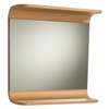 Whitehaus Collection AEM055N Wood/Aluminum Sets Mirrors Natural (Birchwood)