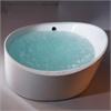 AM2130 6 Foot Round Free Standing Acrylic Air Bubble Bathtub