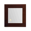 Whitehaus Collection AMET01 Shelves And Mirrors Mirrors Ebony Wood