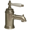 Whitehaus Collection N21-P-BN Fountainhaus Faucets Brushed Nickel