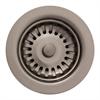 Whitehaus Collection RNW35L-BN Kitchen Sink Accessories Sinks Brushed Nickel
