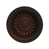 Whitehaus Collection RNW35L-MB Kitchen Sink Accessories Sinks Mahogany Bronze