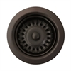 Whitehaus Collection RNW35L-ORB Kitchen Sink Accessories Sinks Oil Rubbed Bronze