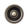 Whitehaus Collection WC2BASK-BN Kitchen Sink Accessories Sinks Brushed Nickel