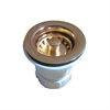 Whitehaus Collection WC2BASK-B Kitchen Sink Accessories Sinks Polished Brass