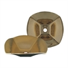 Whitehaus Collection WH1515NDV-B Copperhaus Sinks Polished Brass