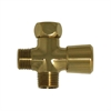 Whitehaus Collection WH161A2-B Showerhaus Faucets Polished Brass