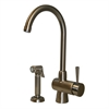 Whitehaus Collection WH16666-BN Evolution Faucets Brushed Nickel