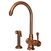Whitehaus Collection WH17666-ACO Evolution Faucets Antique Copper