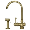 Whitehaus Collection WH17666-B Evolution Faucets Polished Brass