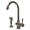 Whitehaus Collection WH17666-C Evolution Faucets Polished Chrome