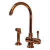 Whitehaus Collection WH17666-CO Evolution Faucets Polished Copper