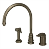 Whitehaus Collection WH18664-BN Evolution Faucets Brushed Nickel