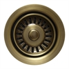 Whitehaus Collection WH200-AB Kitchen Sink Accessories Sinks Antique Brass