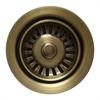 Whitehaus Collection WH200-AB Kitchen Sink Accessories Sinks Antique Brass