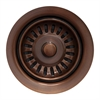 Whitehaus Collection WH200-ACO Kitchen Sink Accessories Sinks Antique Copper