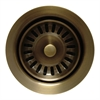 Whitehaus Collection WH202-AB Kitchen Sink Accessories Sinks Antique Bronze