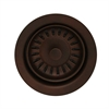 Whitehaus Collection WH202-MB Kitchen Sink Accessories Sinks Mahogany Bronze