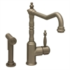 Whitehaus Collection WH2070800-BN Jem Collection Faucets Brushed Nickel