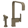 Whitehaus Collection WH2070824-BN Jem Collection Faucets Brushed Nickel