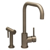 Whitehaus Collection WH2070826-BN Jem Collection Faucets Brushed Nickel