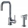 Whitehaus Collection WH2070826-C Jem Collection Faucets Polished Chrome