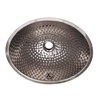 Whitehaus Collection WH608ABM Decorative Basins Sinks Polished Stainless Steel