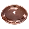 Whitehaus Collection WH608CBL Decorative Basins Sinks Polished Copper