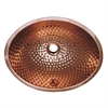 Whitehaus Collection WH608CBM Decorative Basins Sinks Polished Copper