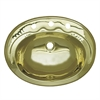 Whitehaus Collection WH614BBL Decorative Basins Sinks Polished Brass