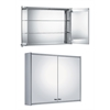 Whitehaus Collection WHCAR-48 Medicine Cabinet Medicinehaus Aluminum