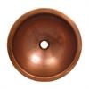 Whitehaus Collection WHCOLV1455-OCH Copperhaus Sinks Hammered Copper