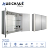 Whitehaus Collection WHFEL7089-S Medicine Cabinet Musichaus Aluminum