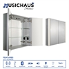 Whitehaus Collection WHFEL8069-S Medicine Cabinet Musichaus Aluminum