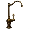 Whitehaus Collection WHFH3-C4121-AB Forever Hot Faucets Antique Brass