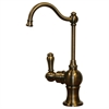 Whitehaus Collection WHFH3-H4131-AB Forever Hot Faucets Antique Brass