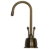 Whitehaus Collection WHFH-HC4650-AB Forever Hot Faucets Antique Brass
