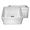 Whitehaus Collection WHFLATN2018-WHITE Reversible Sinks White