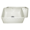 Whitehaus Collection WHFLATN2418-BISCUIT Reversible Sinks Biscuit