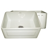 Whitehaus Collection WHFLRPL2418-BISCUIT Reversible Sinks Biscuit