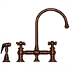 Whitehaus Collection WHKBCR3-9101-ACO Vintage III Faucets Antique Copper