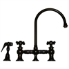Whitehaus Collection WHKBCR3-9101-ORB Vintage III Faucets Oil Rubbed Bronze