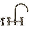 Whitehaus Collection WHKBCR3-9101-P Vintage III Faucets Pewter